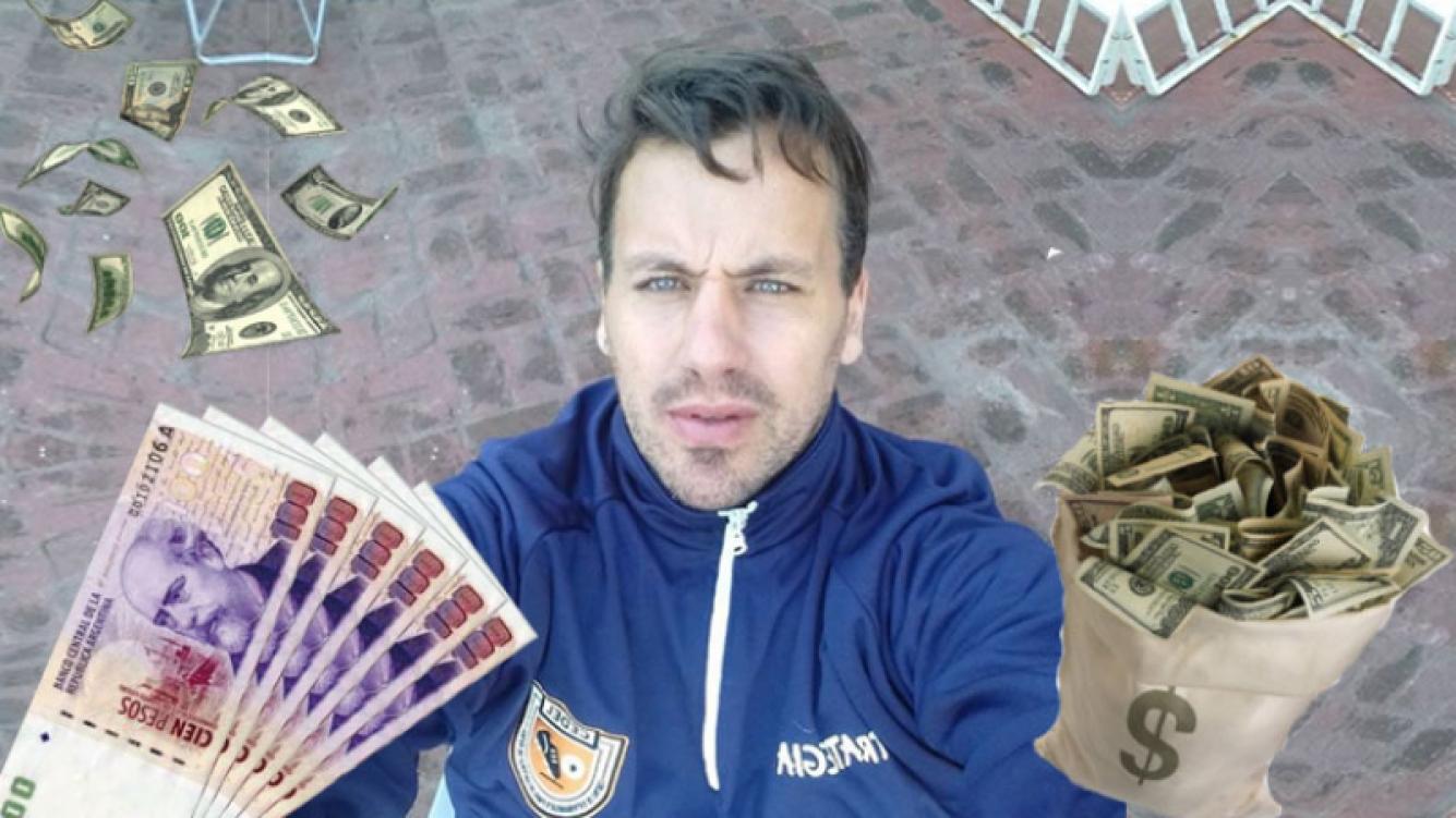 El ogro Fabbiani reveló que un famoso le ofreció 50 mil pesos por sexo