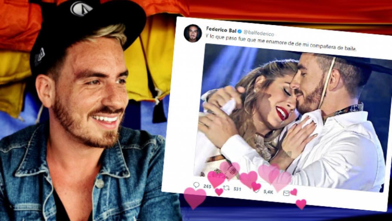 La declaración de amor de Fede Bal a Laurita Fernández