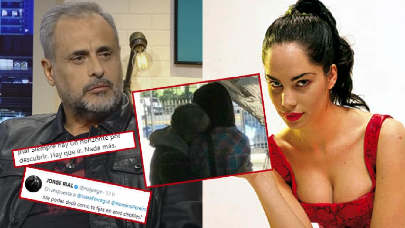 Jorge Rial se expresó en las redes tras las fotos con Romina Pereiro.