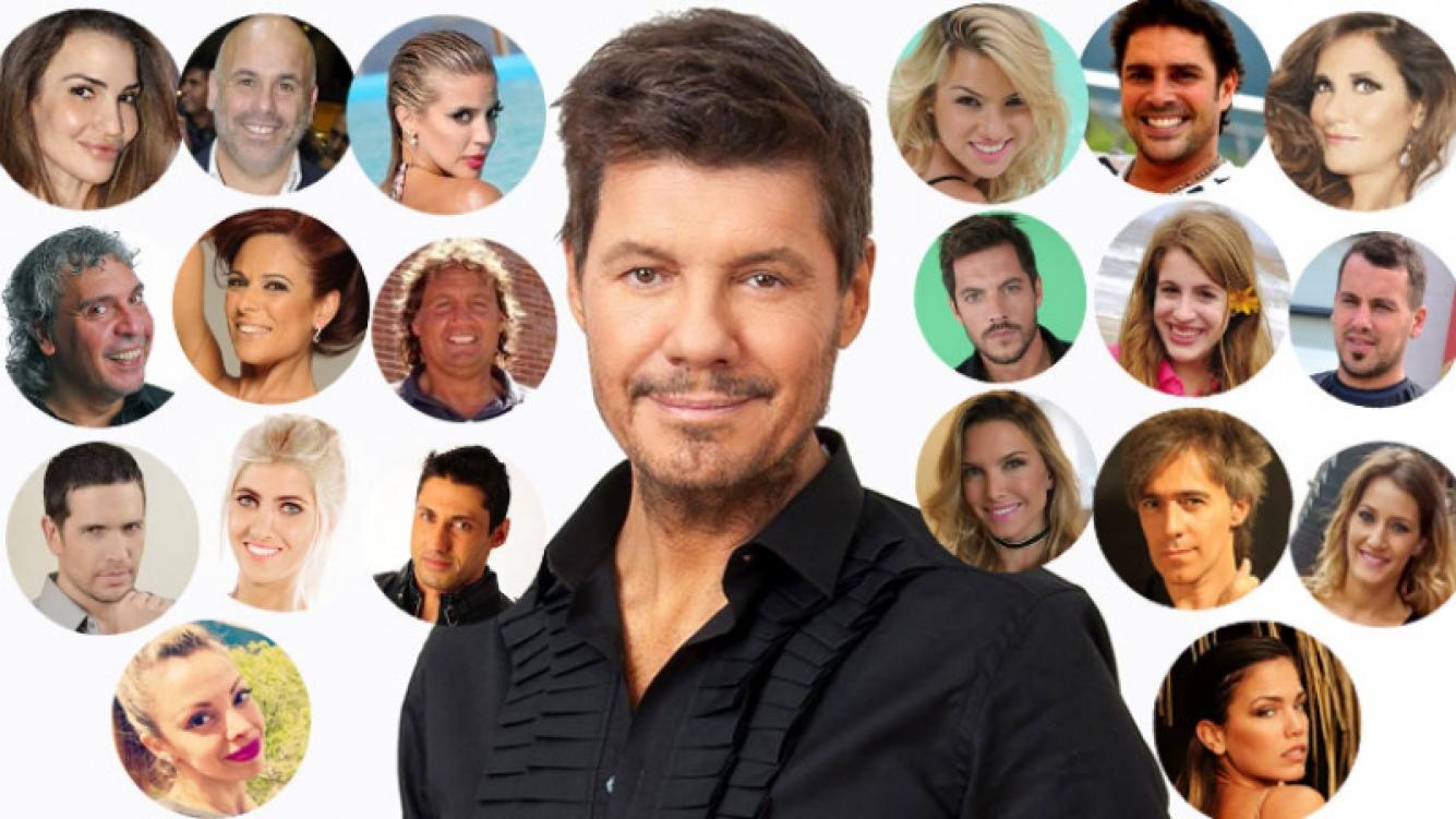 Marcelo Tinelli reveló los nombres de los 20 famosos que se suman al Bailando