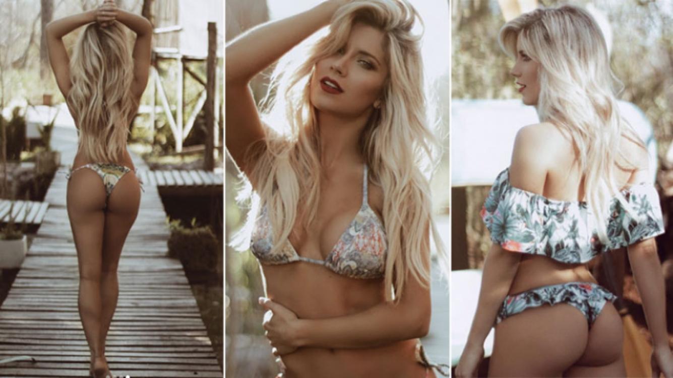La producción súper sexy de Laurita Fernández en bikin (Foto: Instagram)