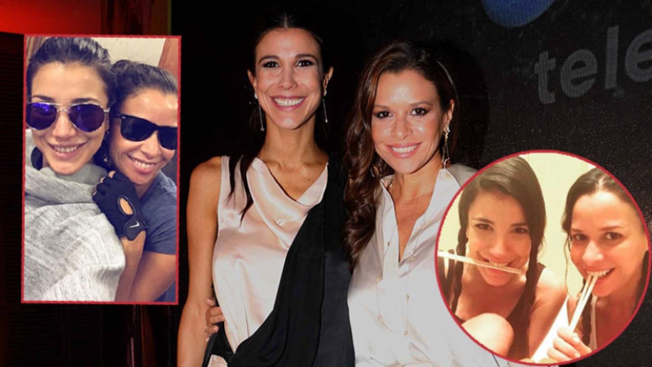Julieta Ortega y Andrea Rincón hablaron de su amistad.