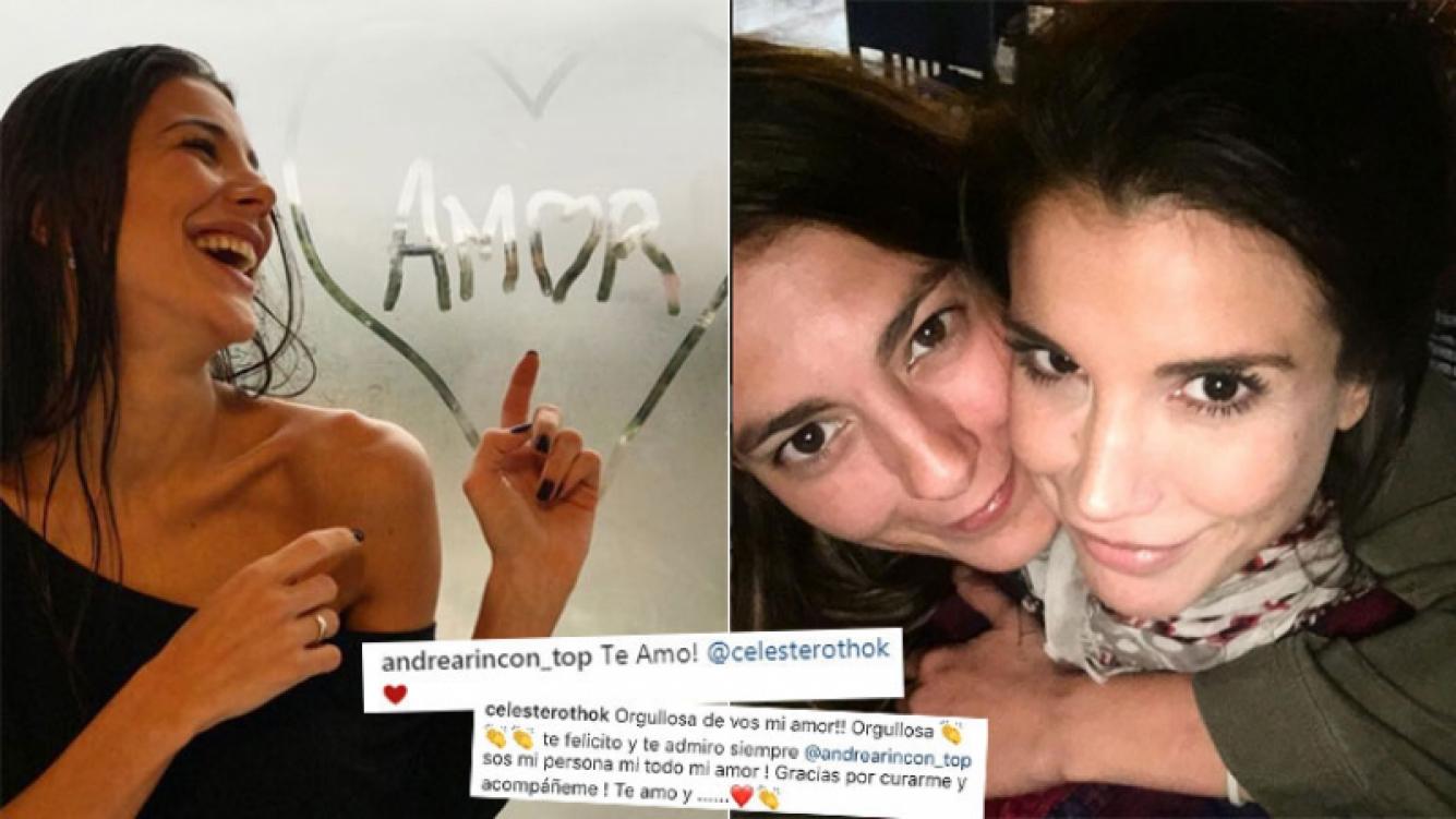 Andrea Rincón, ¿de novia con una productora de ShowMatch?
