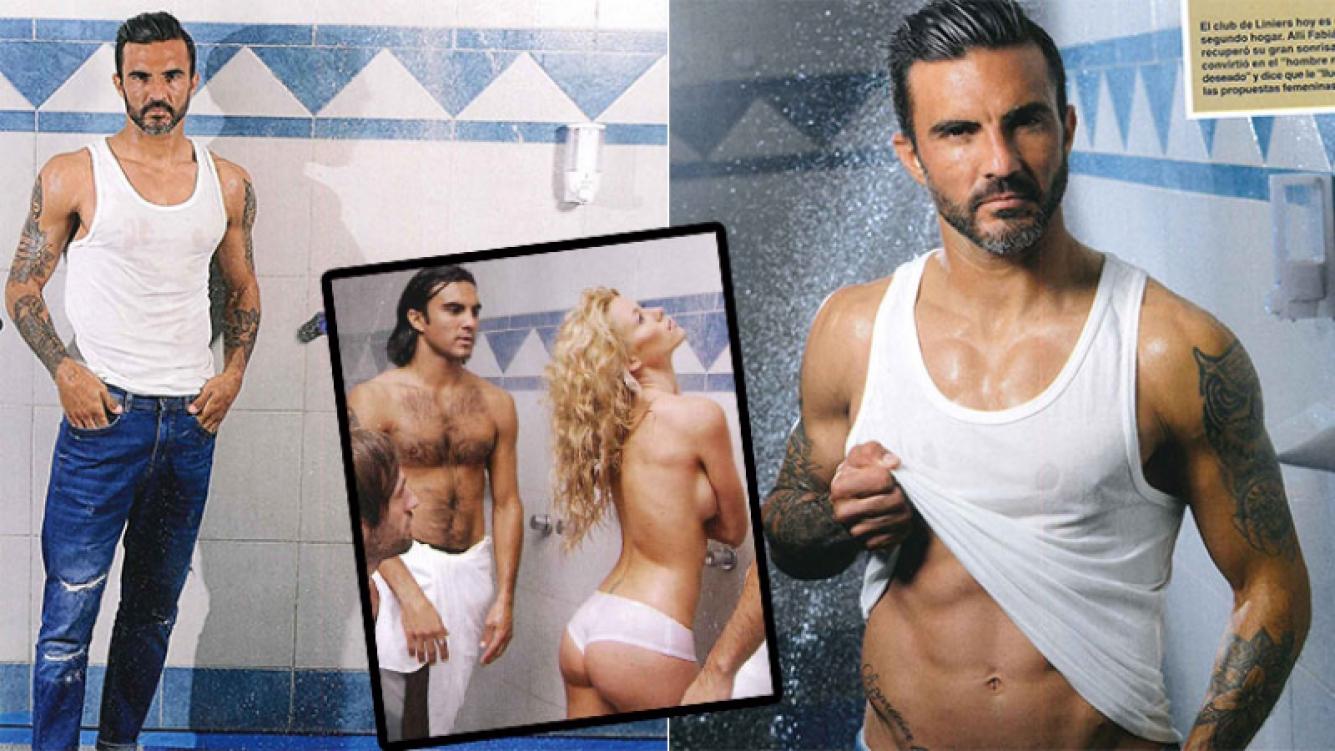 Fabián Cubero, singular detalle de la producción sexy y confesiones íntimas (Foto: revista Caras)