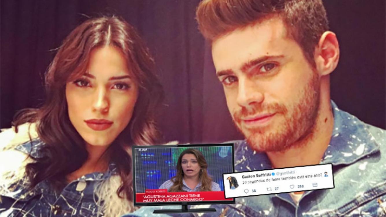 El picantísimo tweet de Gastón Soffritti contra Rocío Robles tras criticar a su novi