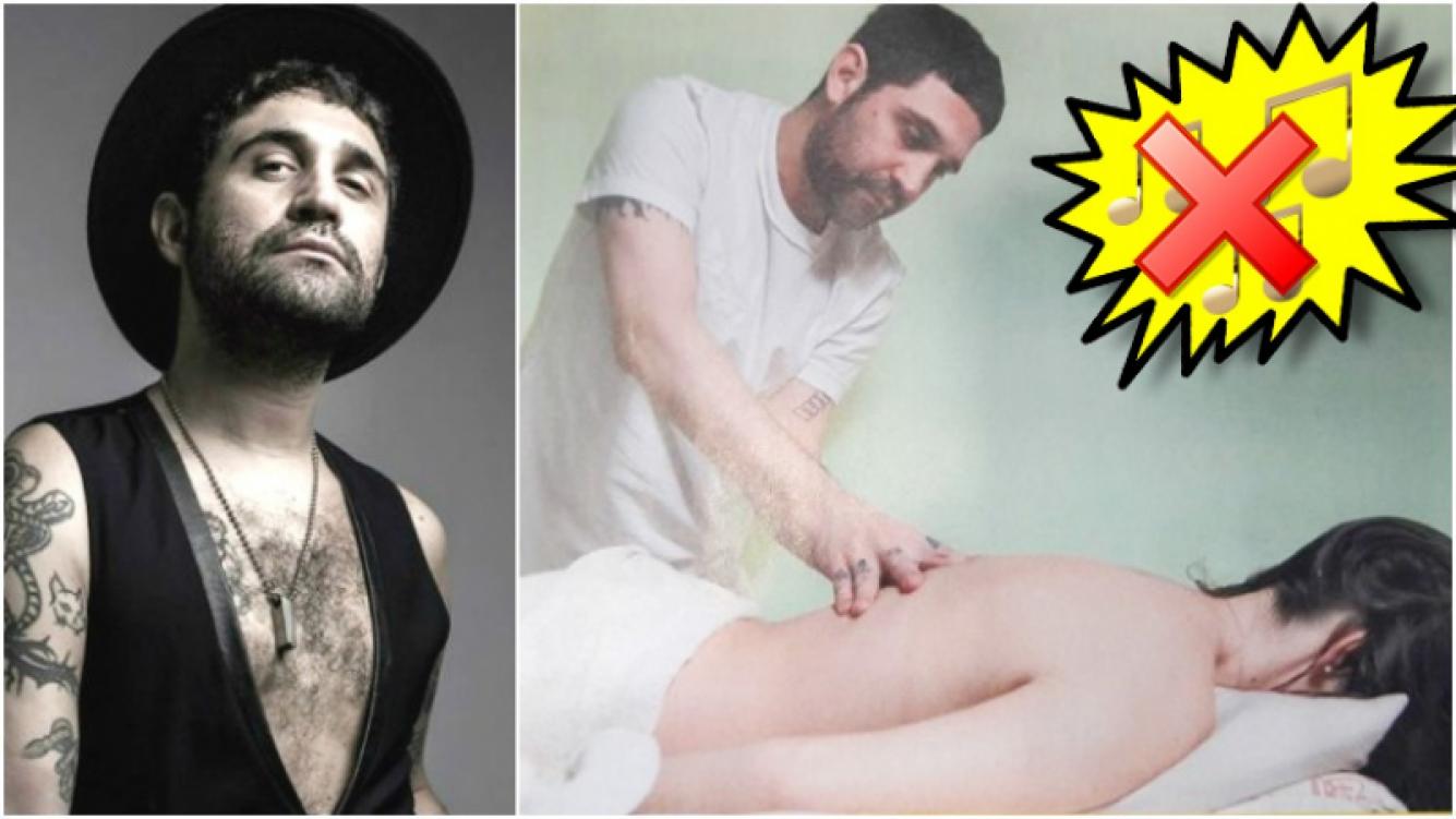 Lolo dejó de ser el guitarrista de Miranda y ahora es un masajista profesional (Fotos: Web y revista Pronto)