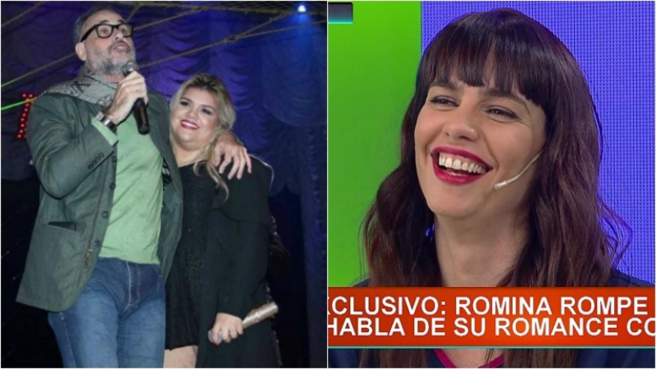 """El mensaje """"buena onda"""" de More Rial a Romina Pereiro. Foto: Captura/Web"""