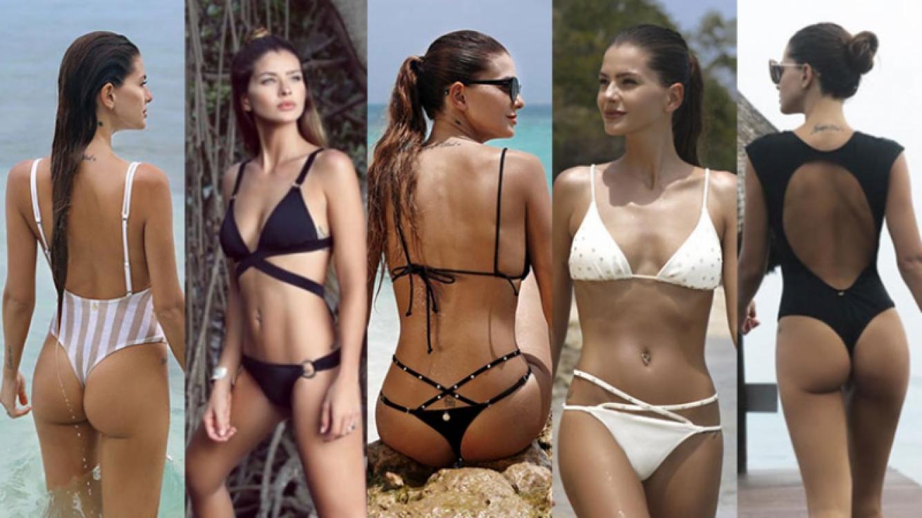 La producción súper sexy de la China Suárez en una playa paradisíaca (Foto: Sweet Lady)