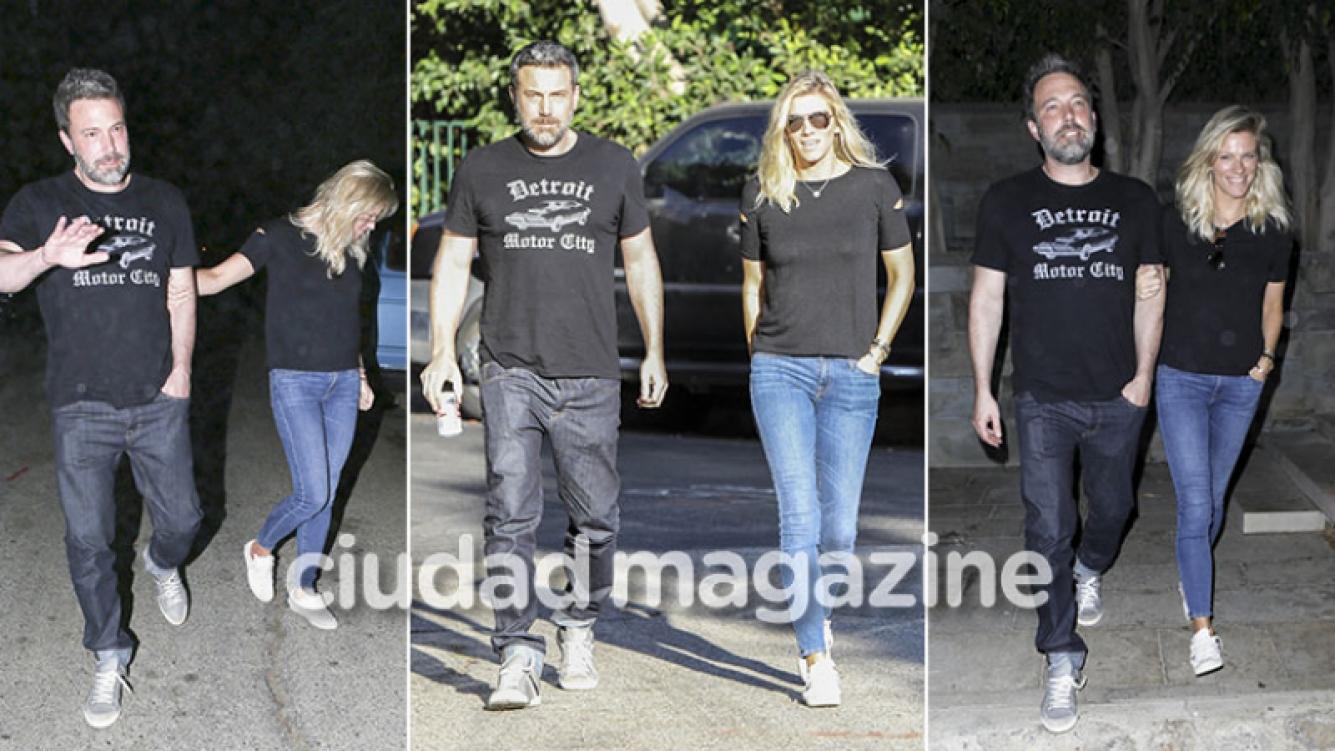 Ben Affleck, enamorado de una bella productora de TV a cuatro meses de divorciarse de Jennifer Garner. (Foto: Grosby Group)