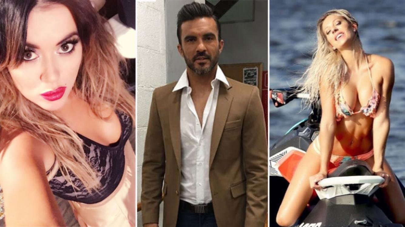 Fabián Cubero, ¿entre Noelia Marzol y Karina Jelinek? Foto: Instagram.