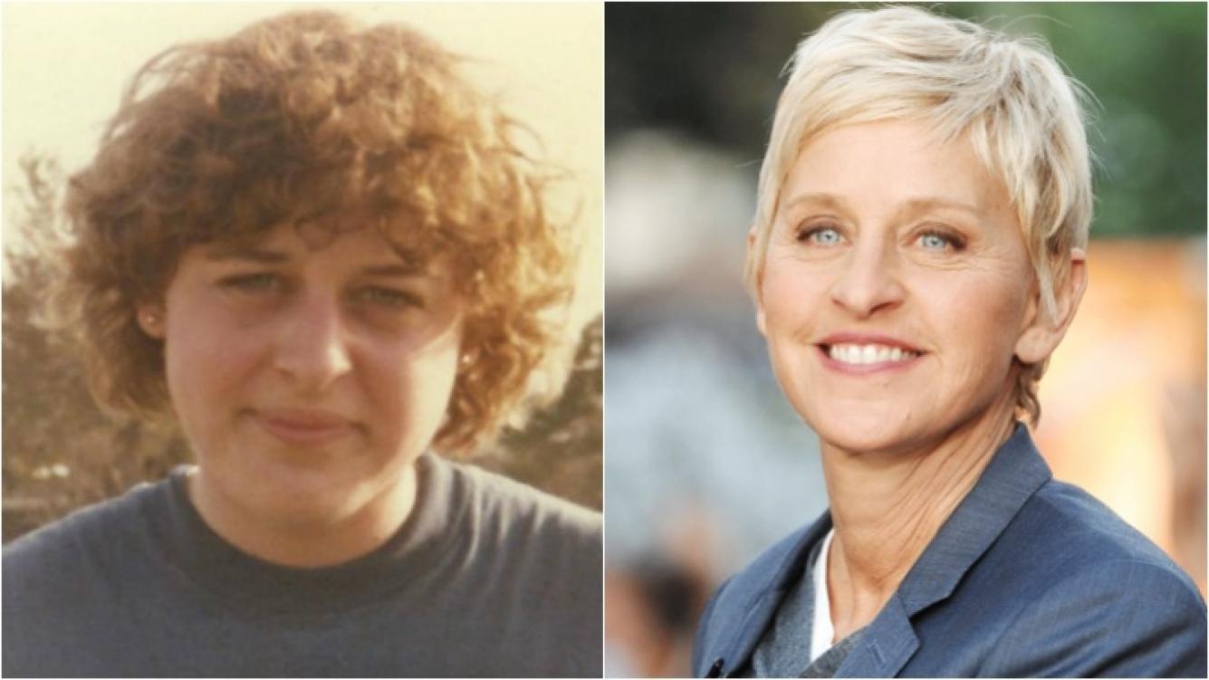 """¡Qué cambio! Ellen DeGeneres mostró una foto suya de adolescente: """"Tenía 15 años"""""""