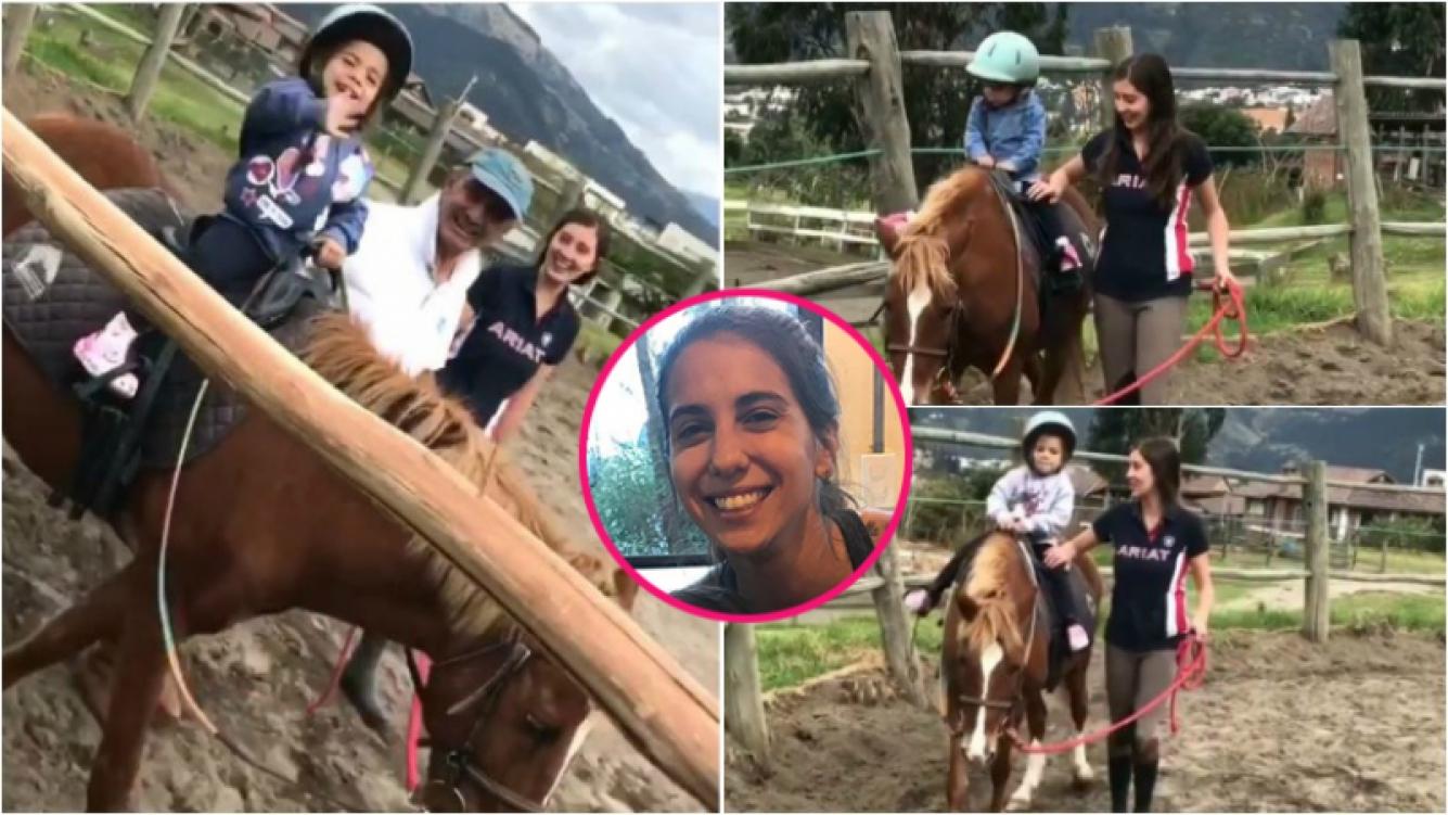 """El nuevo hobbie de las hijas de Cintia Fernández: """"Mis bebés empezaron equitación; ya me veo buscando escuela en Baires"""""""