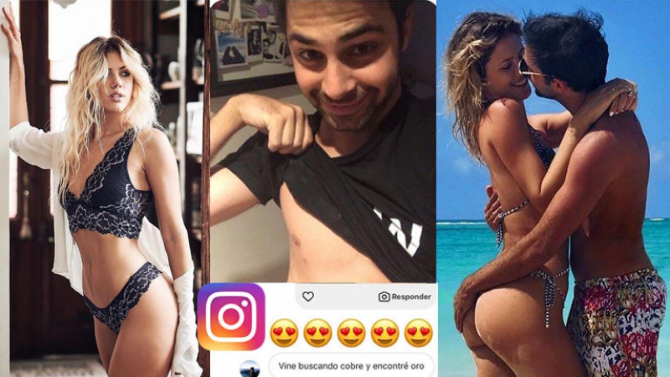 Grego Rossello le puso los puntos a un chico que le pidió fotos hot a su novia. (Foto: Instagram)