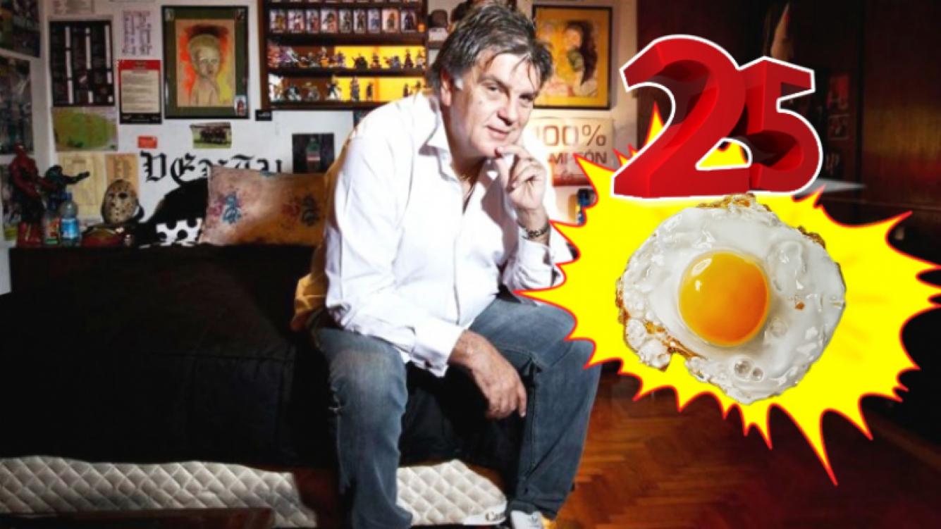 Luis Ventura reveló que casi se muere a los 12 años por comer 25 huevos fritos