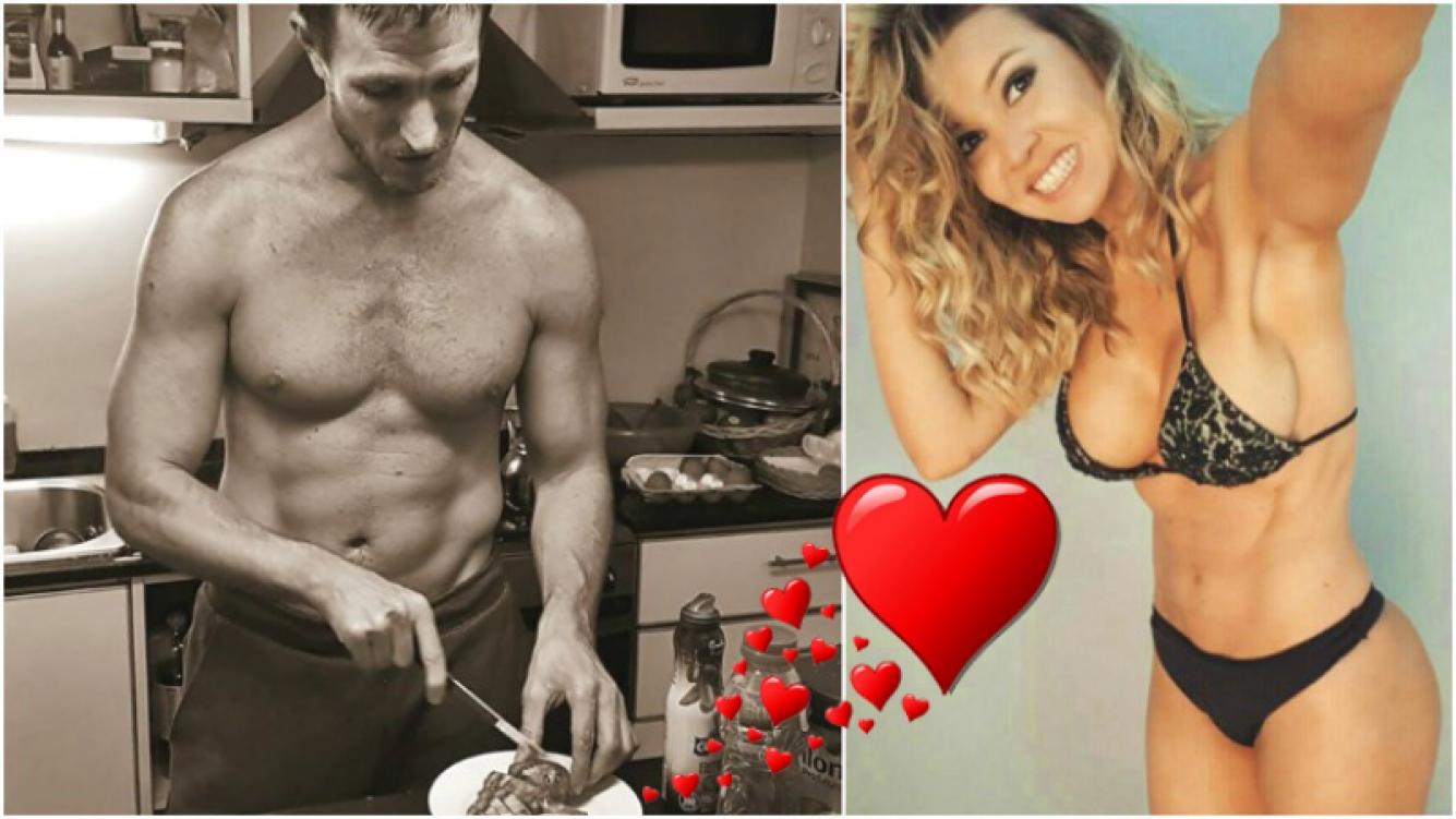 El guiño (¡con sensual foto incluida!) de Dallys Ferreira a su pareja (Fotos: Instagram y Web)