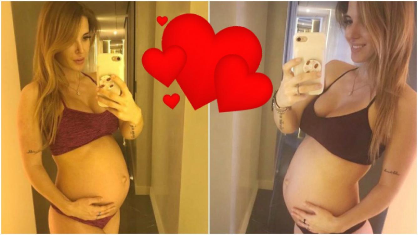 El saludo de Jésica Cirio, embarazada de 7 meses, a todas las futuras madres en su día (Fotos: Instagram)