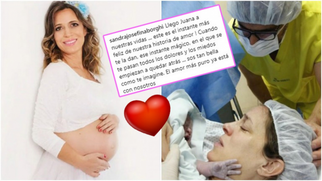 A los 41 años, Sandra Borghi volvió a convertirse en madre (Fotos: Moments, by Cata Galante e Instagram)
