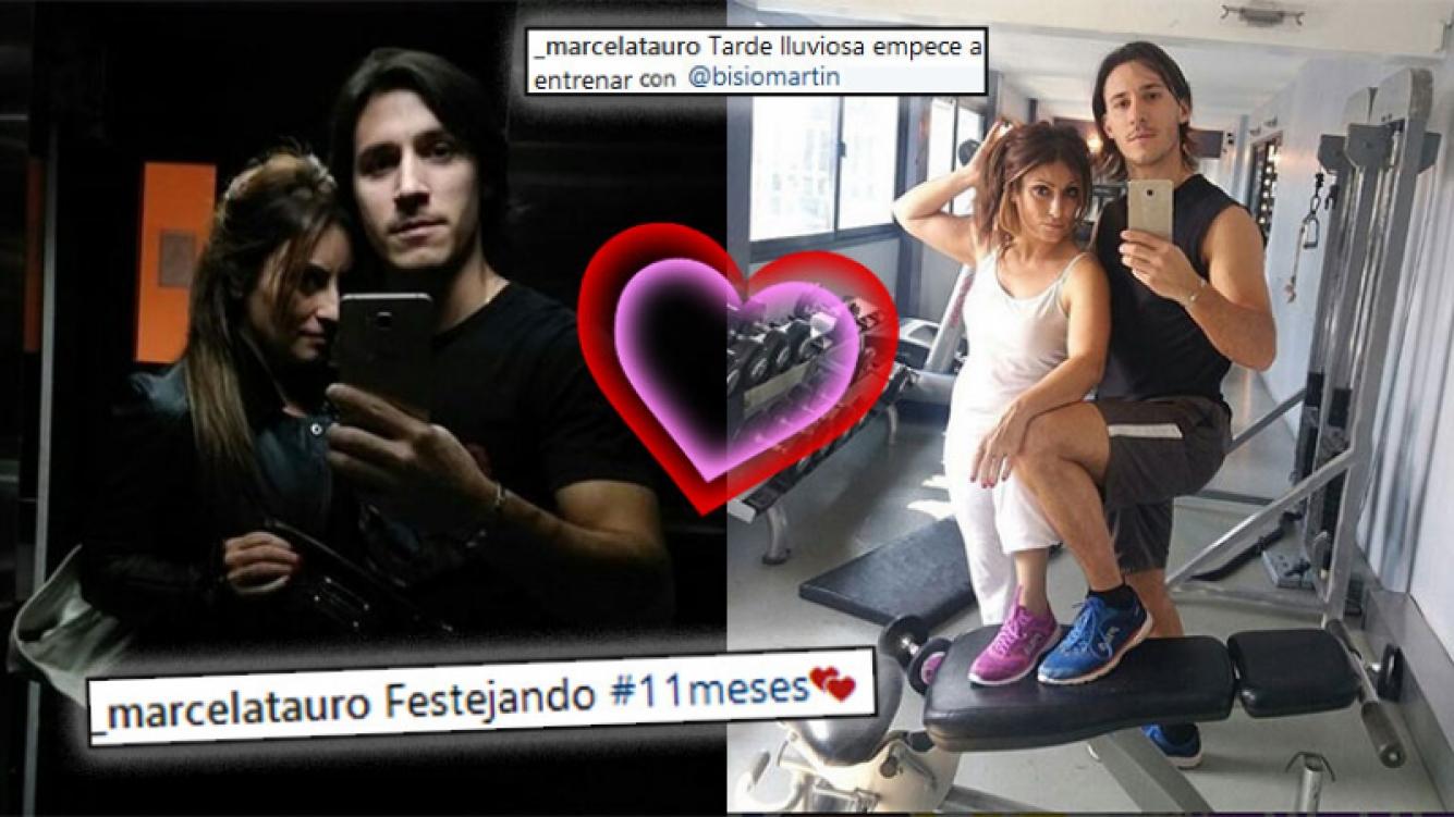 Marcela Tauro, noche de pasión y tarde de gym con su joven novio por su aniversario