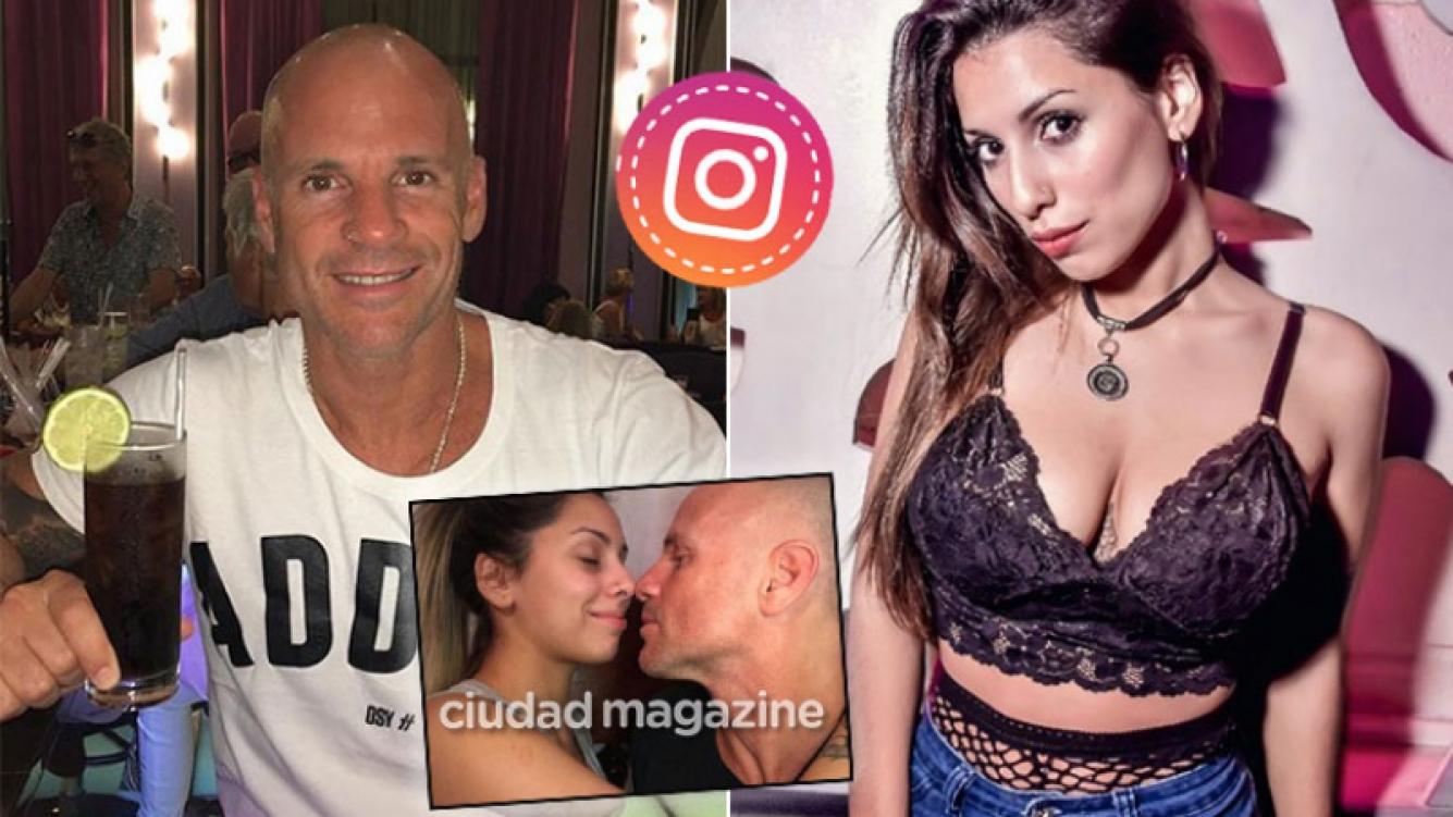 Voluptuosa joven publicó una romántica foto con Alejandro Pucheta