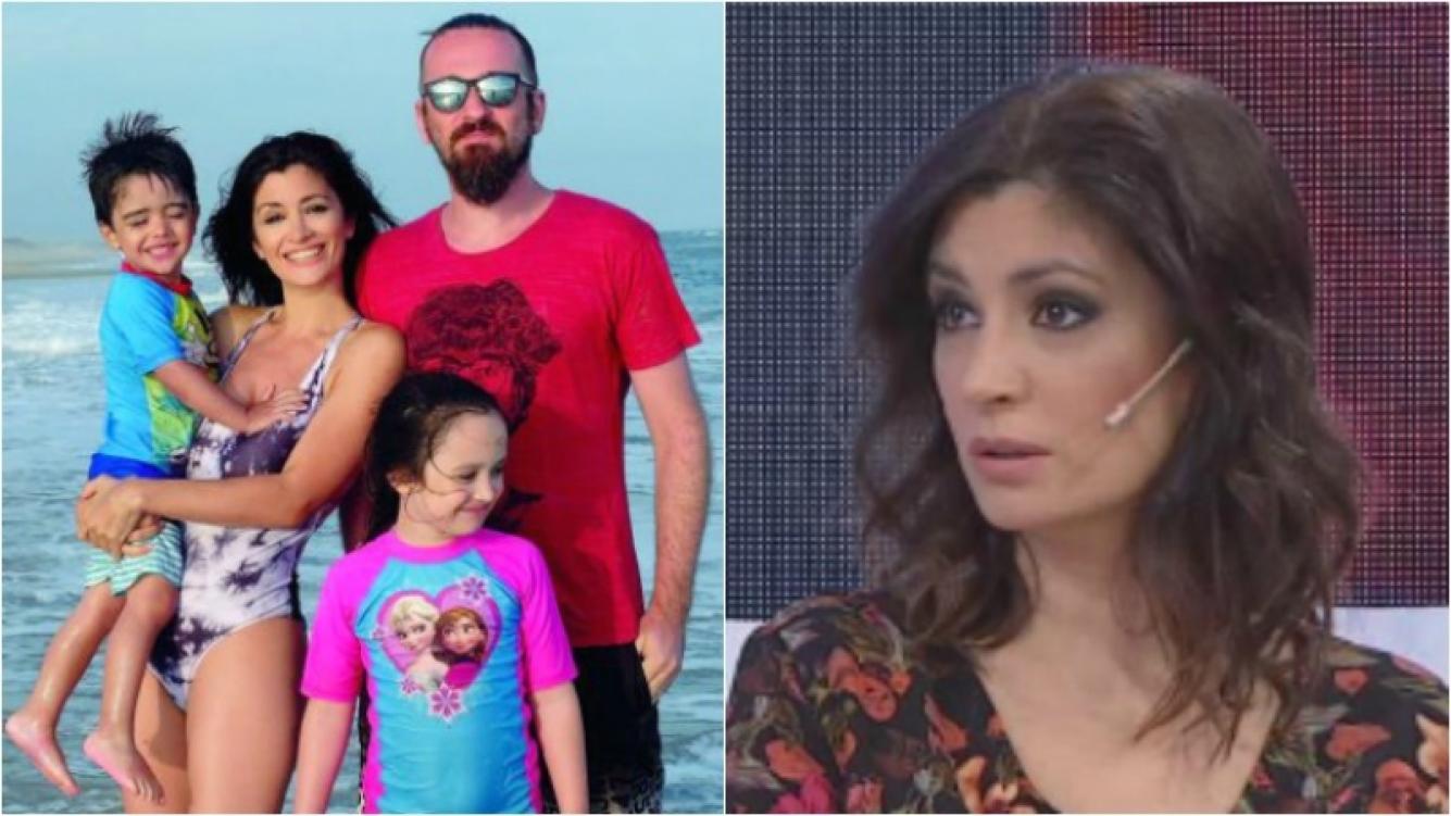 Carla Conte, a corazón abierto, contó cómo fue la charla con sus hijos sobre su separación. Foto: Gente/ Web