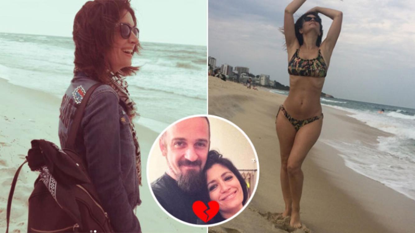 Carla Conte, una soltera suelta en Brasil tras trece años en pareja