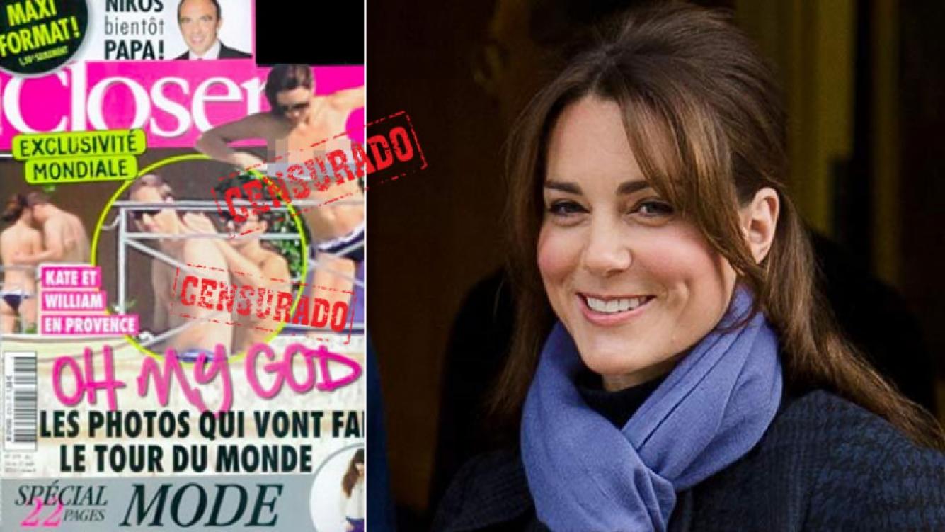 Kate Middleton le ganó un juicio millonario a una revista por sus fotos en topless