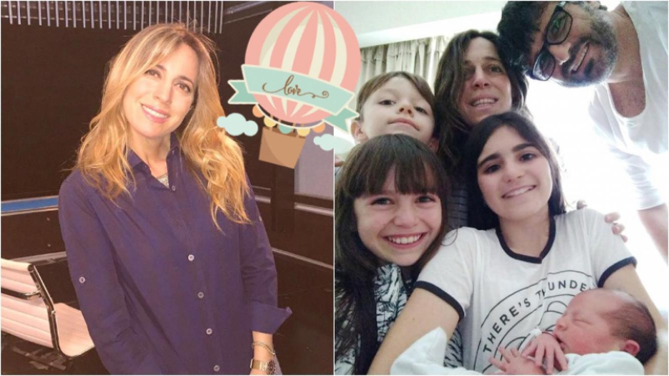 """La felicidad de Sandra Borghi por el nacimiento de Juana: """"Fue todo tan hermoso y los chicos lloraban de la emoción"""" Foto: Instagram"""