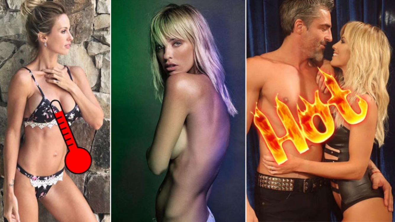 El desnudo artístico de Rocío Guirao Díaz que incendió Instagram. Foto: Instagram.