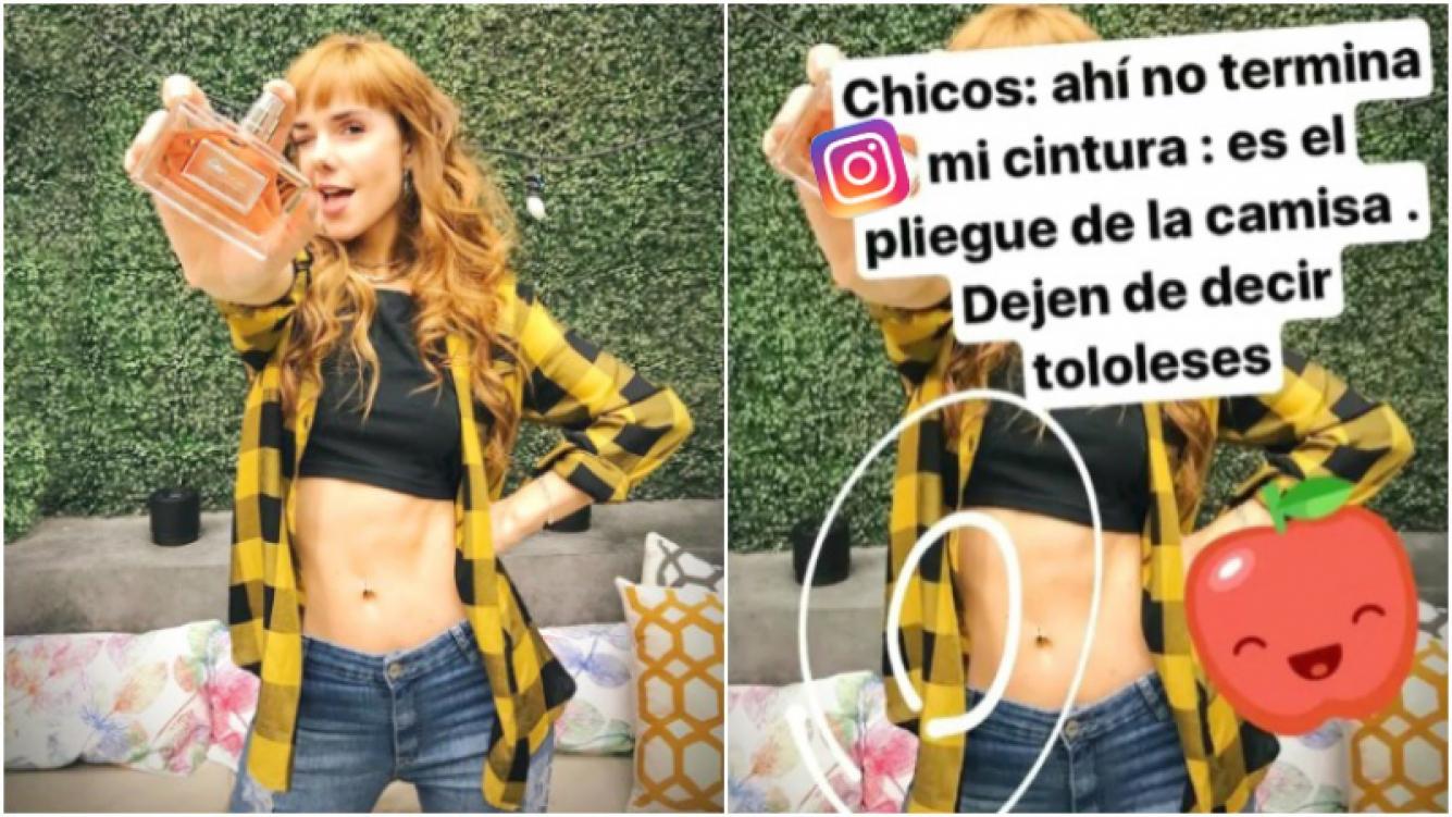 La respuesta de Julieta Nair Calvo tras la foto que generó críticas por su delgadez (Fotos: Instagram y Captura de Instagram Stories)