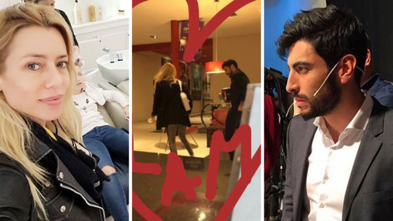Nicole Neumann y Facundo Moyano fueron juntos al cine de Nordelta. (Foto: Twitter e Instagram)