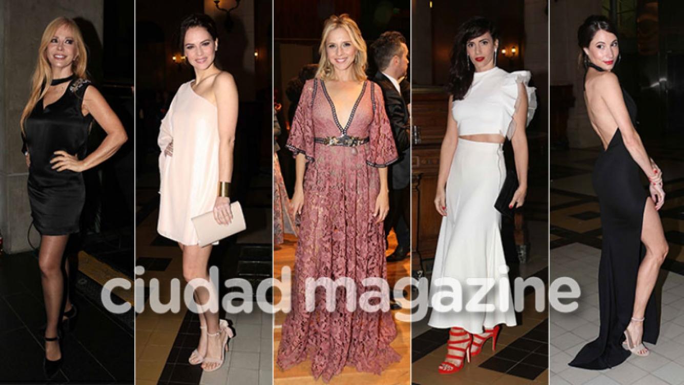 Todos los looks de las diosas en los Premios Hugo a lo mejor del musical en Argentina. (Foto: Movilpress)