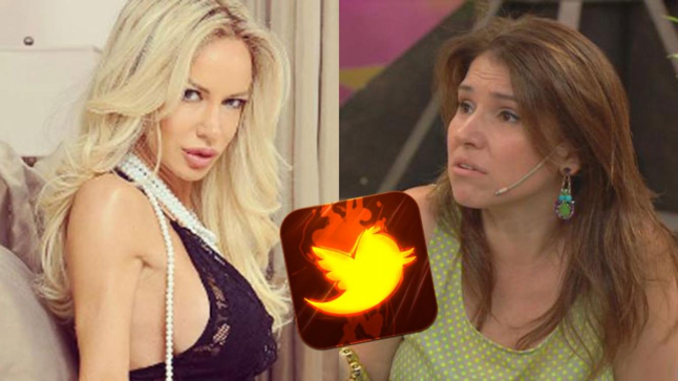 Luli Salazar se enojó por un mensaje de Fernanda Iglesias en Twitter.