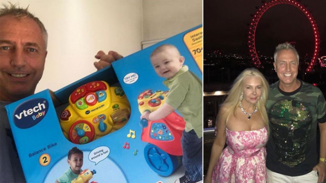 Marley le agradeció a Mariana Nannis el súper triciclo que le regaló para su hijo. (Foto: Instagram)