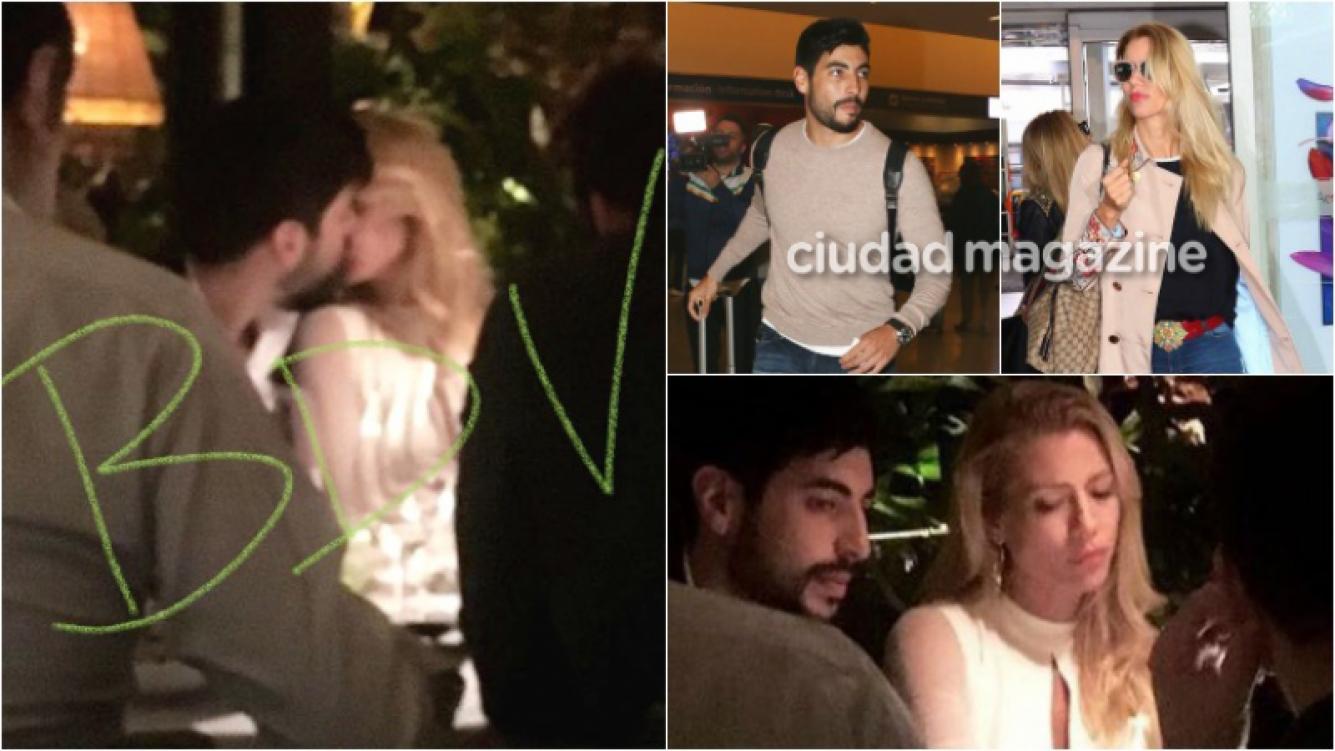 La primera foto de Nicole Neumann y Facundo Moyano, a los besos en Madrid. Foto: Twitter/ Movilpress