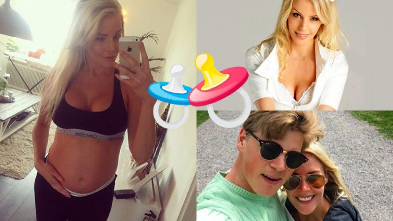 Alexandra Larsson anunció que está embarazada desde Instagram.
