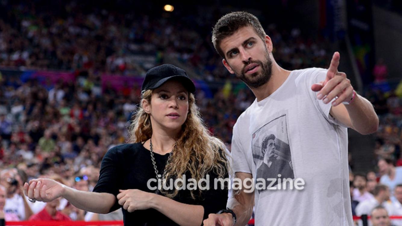 Shakira y Gerard Piqué, en medio de rumores de crisis (Fotos: AFP).