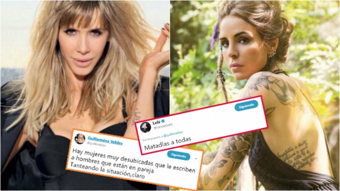 """Cande Tinelli, durísima, en apoyo a Guillermina Valdés contra """"las mujeres que le escriben a hombres que están en pareja"""""""