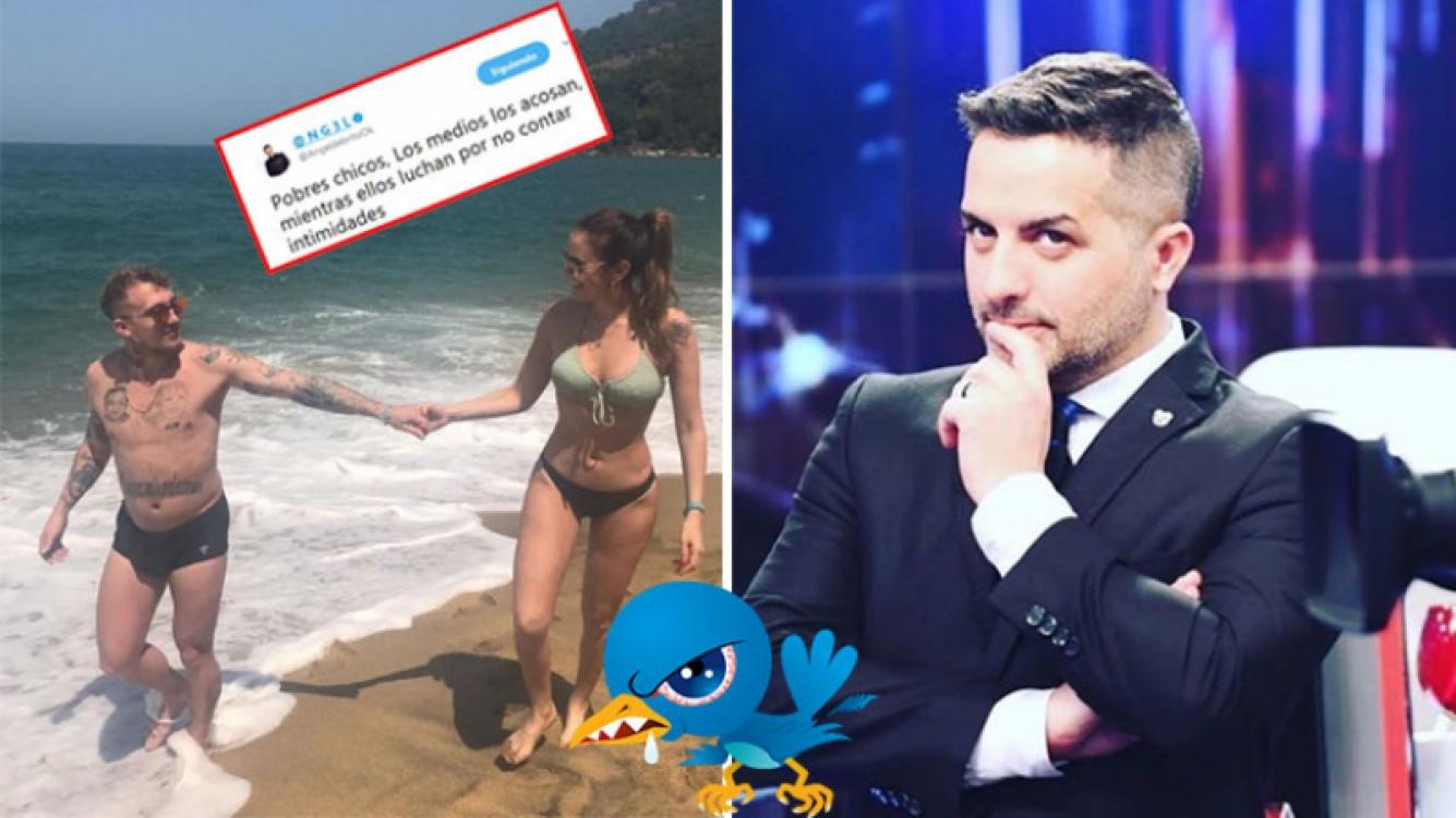 Ángel de Brito, durísimo con Silvina Luna y el Polaco en Twitter. (Foto: Twitter e Instagram)