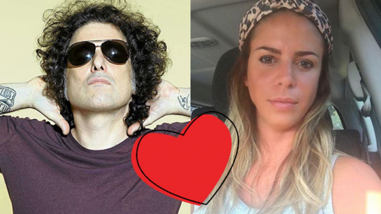 Andrés Calamaro y Marianela Mirra, ¡juntos!