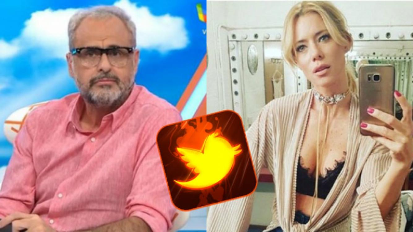 Jorge Rial, enfrentado en Twitter con Nicole Neumann.