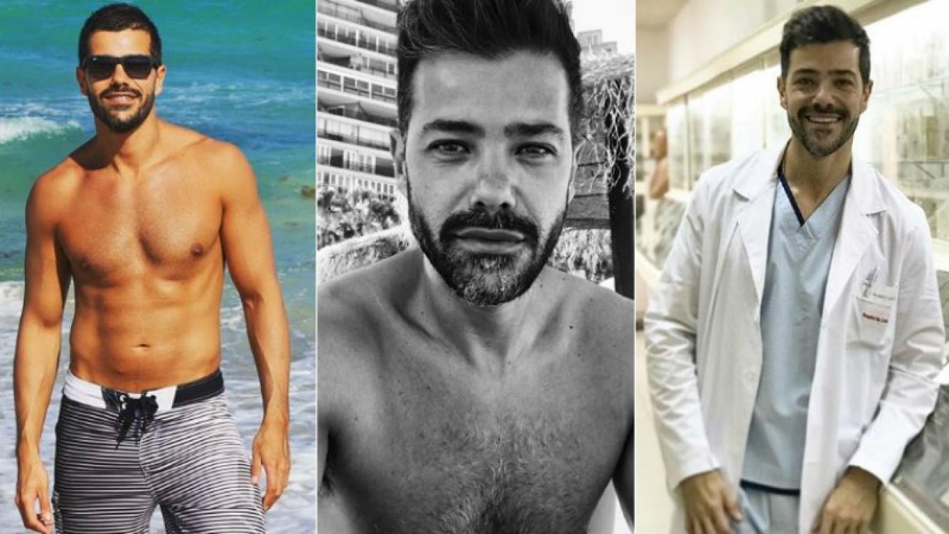 Las fotos más sexies de Diego Martínez, el médico bombonazo de Cortá por Lozano. Foto: Instagram