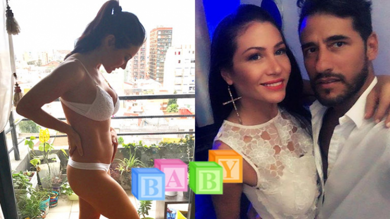 Adabel Guerrero compartió su felicidad por el bebé que espera con Martín Lamela.