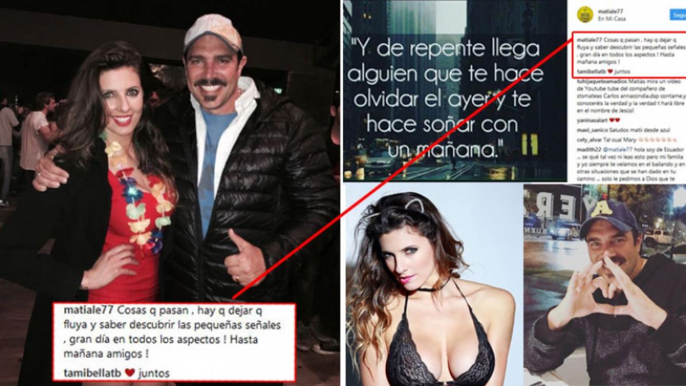 Tamara Bella y Matías Alé, la nueva pareja top de la farándula. (Foto: Instagram)