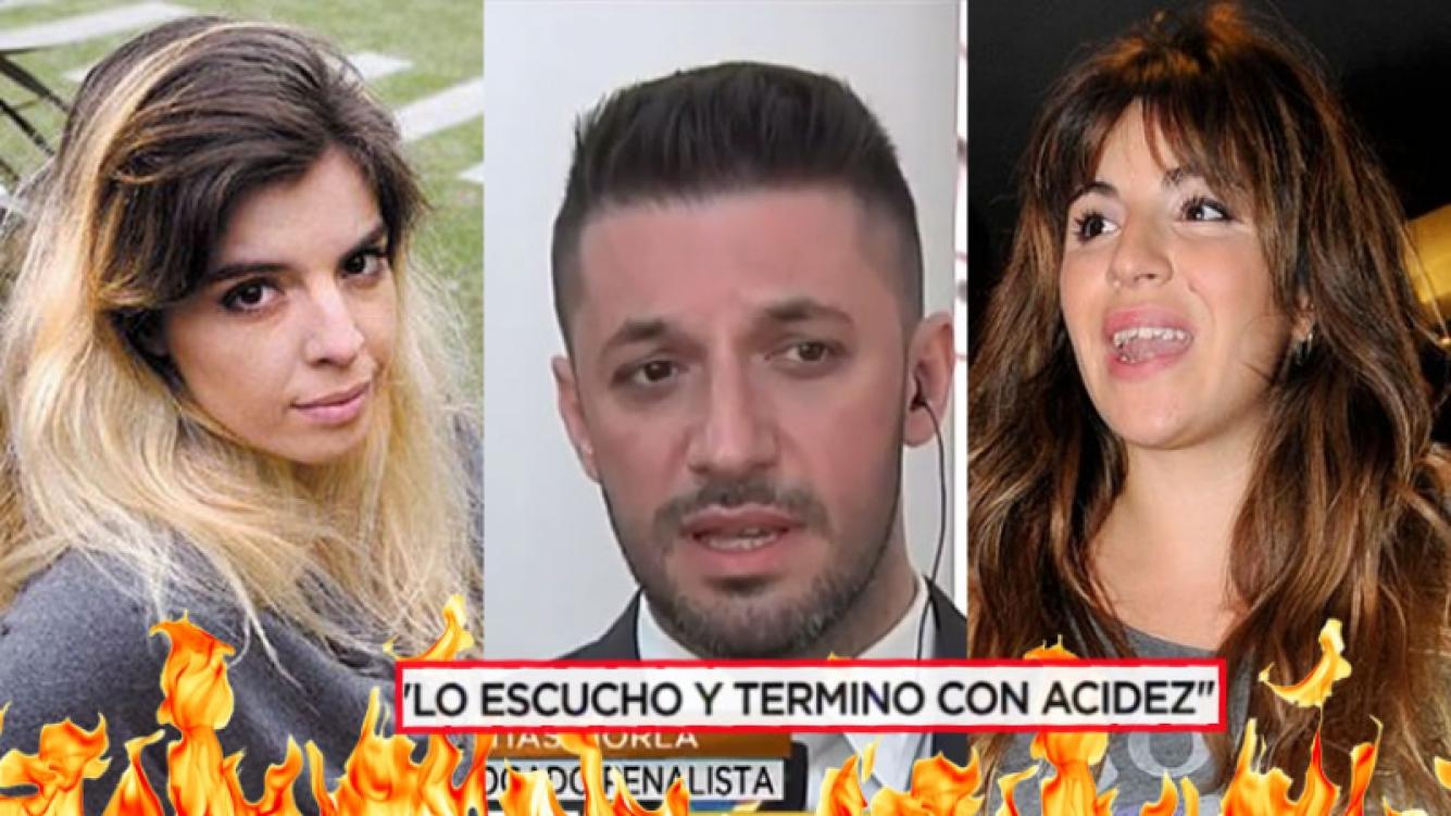 Dalma, Gianinna y Matías Morla en una nueva pelea mediática.