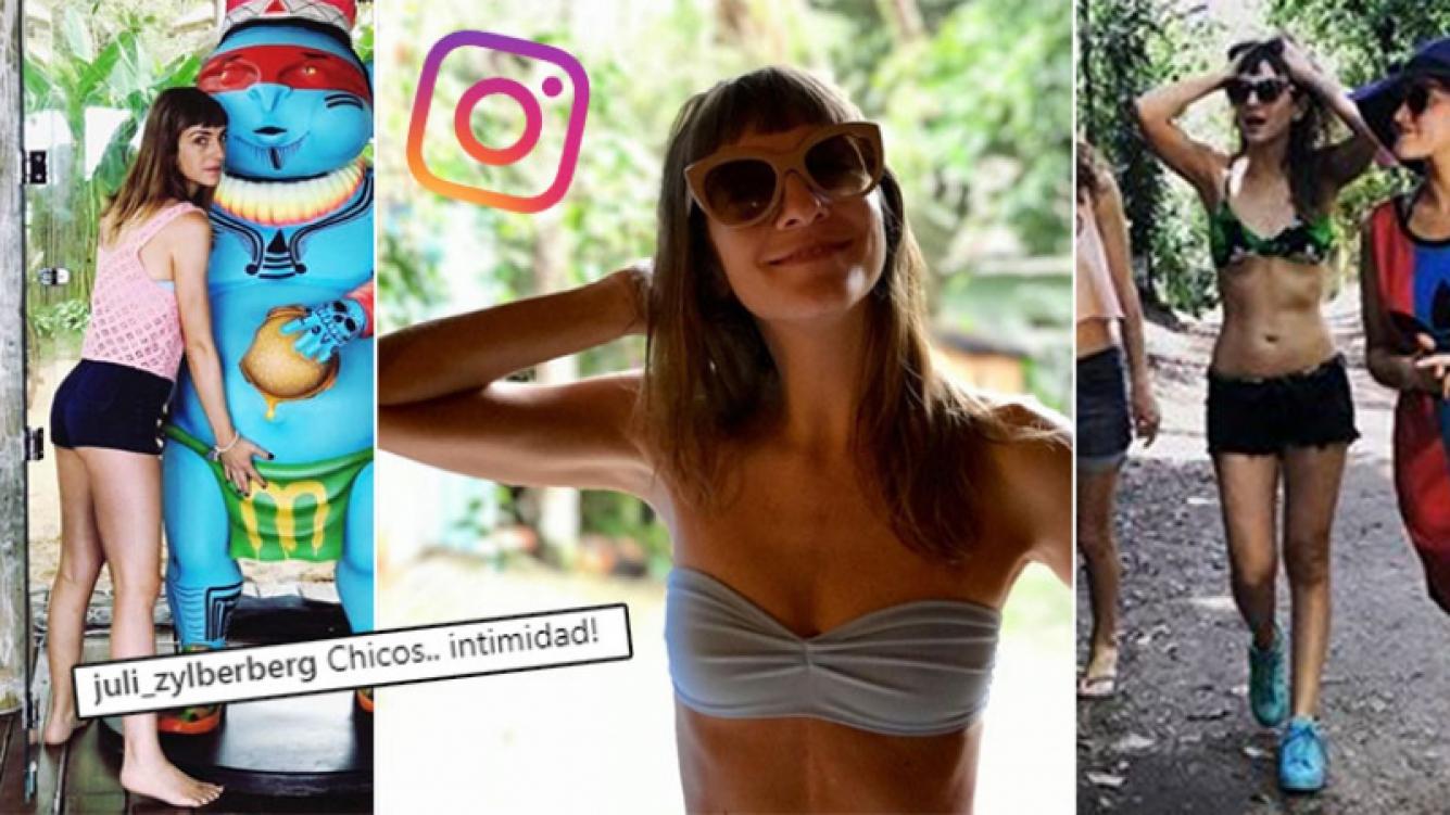 ¡Diosa en bikini! Los divertidos días de soltera de Julieta Zylberberg en Brasil