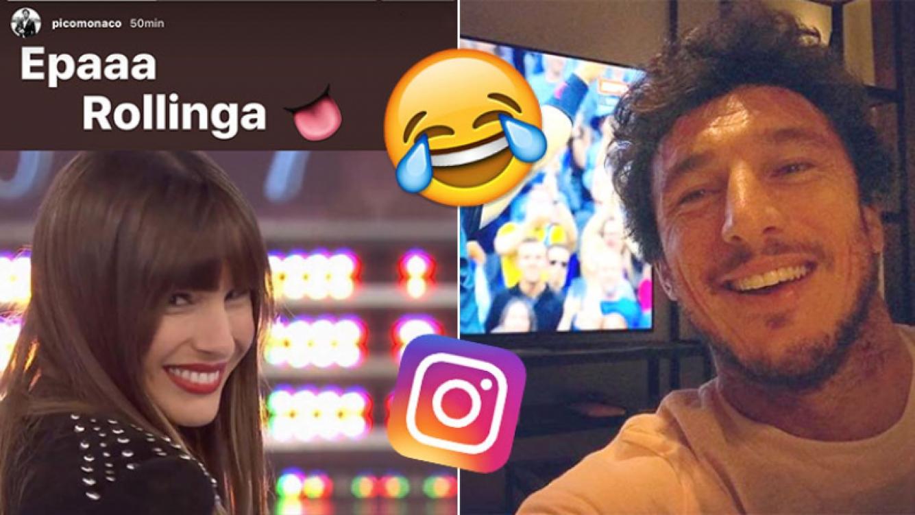 """El look """"stone"""" de Pampita: la broma de Pico Mónaco en Instagram y la divertida reacción de la modelo"""