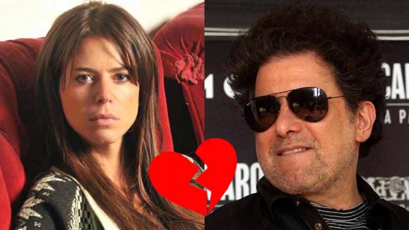 Marianela Mirra y Andrés Calamaro, enfrentados tras el rumor de affaire.