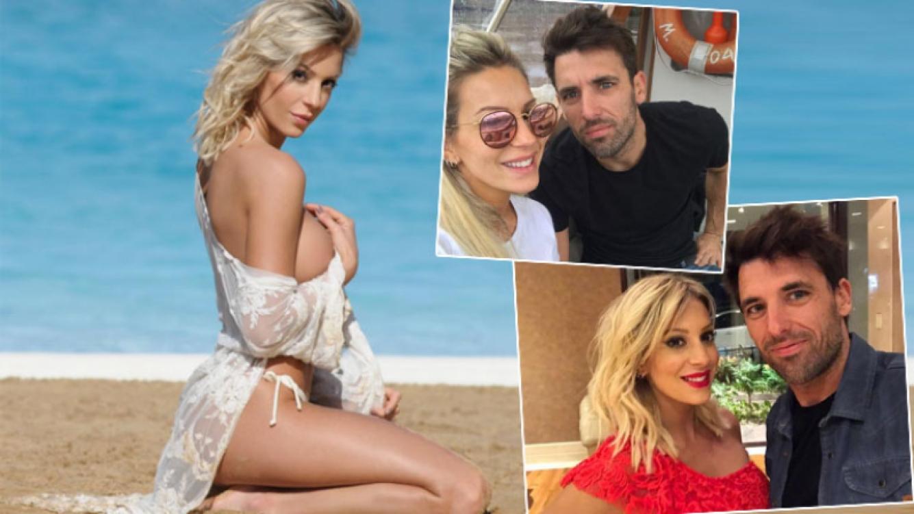Noelia Marzol presentó a su nuevo novio, Marcos Baldovino (Foto: revista Caras y redes sociales)