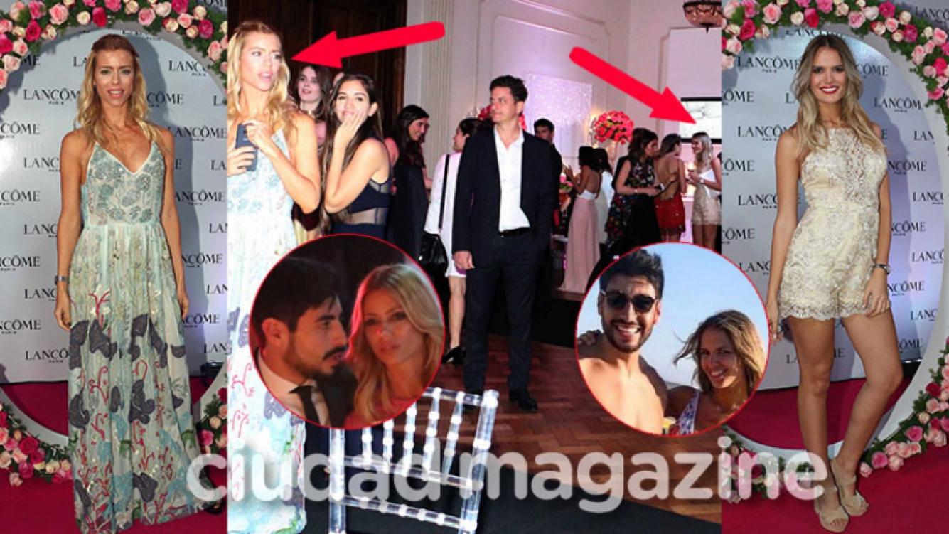 Nicole Neumann y Eva Bargiela coincidieron en la misma fiesta (Fotos: Movilpress).