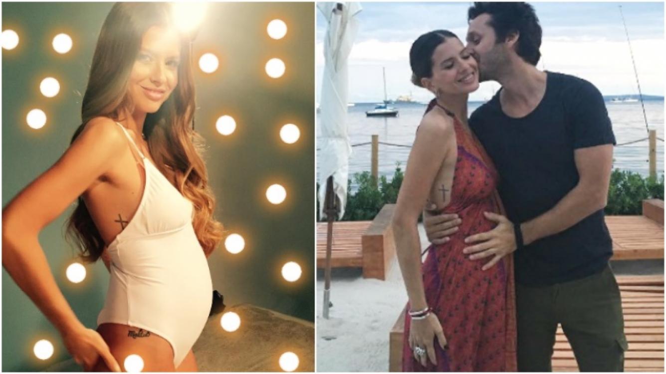 La tierna foto de la China Suárez, embarazada de 5 meses y en malla enteriza (Fotos: Instagram)